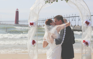 wedding photographers st joseph mi
